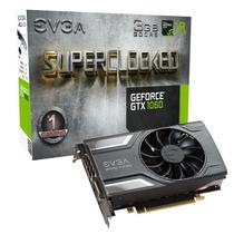 Placa de Vídeo EVGA GTX1060 SC Gam 3GB/DDR5/192B/1607MHZ (03G-P4-6162-KR)