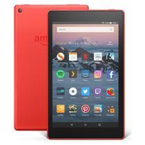 "Tablet Amazon Fire HD8 16GB / Tela 8"" / Cameras 2MP e 2MP / 1.5GB Ram - Vermelho"