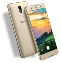 Celular Blu Grand 5.5 HD II - G210Q - 5.5 Polegadas - Dual-Sim - 16GB - 3G - Dourado