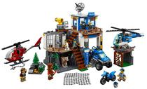 Lego City Mountain Police Headquarters 60174 663 Pecas