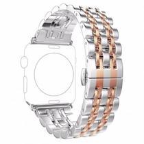 f8506665a2e Pulseira 4LIFE de Aco Inoxidavel para Apple Watch - 38MM - Rose Gold