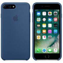 Capa de Silicone para iPhone 7 Plus - Azul