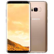 Smartphone Samsung Galaxy S8 SM-G950FD Dual Sim 64GB Tela 5.8 12MP/8MP Os 7.0 - Dourado