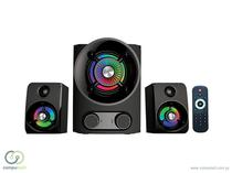 Home Theater Satellite AS-2702 Subwoofer 2.1 - USB - SD - Bluetooth