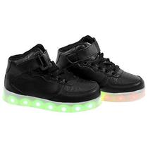 Tenis LED Gati TXL-31 NO22  Preto