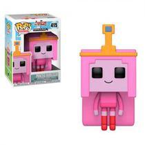 Funko Pop Animation Adventure Time Minecraft - Princess Bubblegum - 415