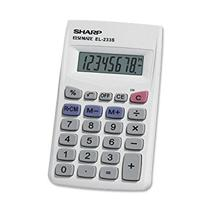 Calculadora Sharp EL-233SB . Branco