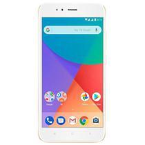 """Smartphone Xiaomi Mi A1 Dual Sim 32GB Tela de 5.5"""" 12+12MP/5MP Os 7.1.2 - Dourado"""