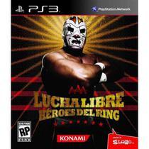 Jogo Lucha Libre Heroes Del Ring PS3