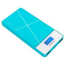Carregador Portatil Pineng PN-983 10.000 Mah 2 Saidas USB - Azul