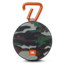 JBL Clip 2 Verde Militar Camuflado Bluetooth