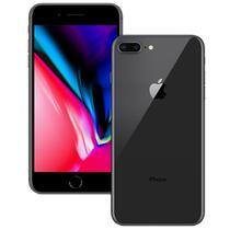 Celular Apple iPhone 8 Plus 64GB Tela 5.5 Chip A11 Cam 12 MPX/7 MPX Ios 11 (BZ) -Cinza Espacial