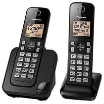 Telefone Sem Fio Panasonic KX-TGC352 com Bloqueio de Chamadas - Preto