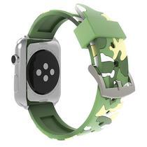 Pulseira 4LIFE de Silicone para Apple Watch 42MM - Amarelo Camuflado