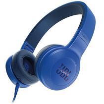 Fone de Ouvido Sem Fio JBL E35 com Microfone  Azul