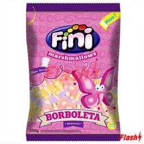 Fini Marshmallows Borboleta Colorida 250G