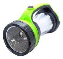 Lanterna Ecopower EP-2628 - 900MAH - Bivolt - Preto e Verde