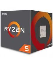 Processador AMD AM4 Ryzen R5-2600X 3.6GHZ/19MB (C/Cooler).