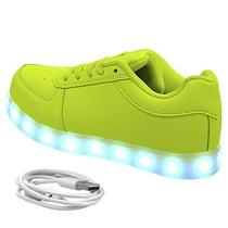 Tenis LED Gati TXL-43 Kids No 28 - Verde