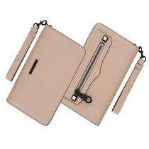 Carteira Rebecca Minkoff RMIPH-017-ND-V com Compartimento para Smartphone - Marrom Nude