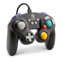 Controle Wired Game Cube Black PWA-A-01892 para Nintendo Switch
