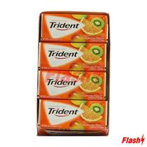 Chicletes Trident Americano Tropical Twist Display c/ 12 Und