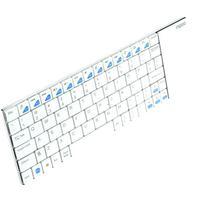 Teclado Rapoo +Touchpad s/f 2.4GHZ E2700 WHT
