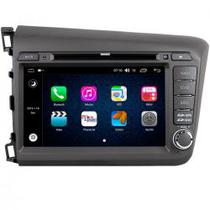 Mult Aikon X2 Android 8.1 Honda Civic 12/14 Cinza AK-36040C-DSP