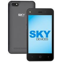 """Smartphone SKY Platinum 4.0 (2100) Dual Sim 4GB Tela 4.0"""" 5MP/1.3MP Os 6.0 - Cinza"""