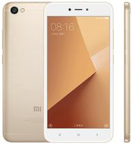 "Smartphone Xiaomi Redmi Note 5A 2GB/16GB Lte Dual Sim Tela 5.5"" Cam.13MP+5MP-Dourado"