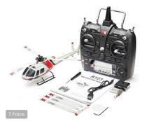 Helicoptero XK K123 s-FHSS 6CH Brushless 3D/6G System RC RTF Wltoys