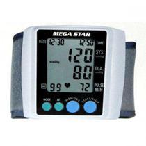 Medidor de Pressao Digital para Pulso Mega Star HT530 - Branco