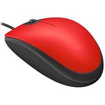 Mouse Optico Logitech M110 Silent 1.000 Dpi USB - Vermelho/Preto