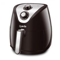 Fritadeira Eletrica Quanta QTAF400 Sem Oleo 3.2 Litros / 3KG / 110V - Preto