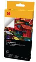 Acessorio para Impressora Instantanea Kodak Cartucho com Papel Adesivo PMS-20
