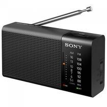 Radio Portatil Sony ICF-P36 AM/FM 100 MW - Preto