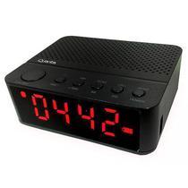 Radio Relogio Quanta QTRBT050 5W /Bluetooth/FM/Bateria 1.200 Mah - Preto