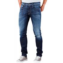 Calca Jeans Replay Anbass M914.66102D.009 Masculina