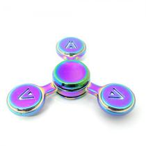 Spinner Anti Stress Metal 3 Pontas V-57 Lata Redonda