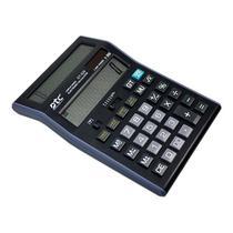 Calculadora DTC DT-928 de 12 Digitos Display Duplo - Preto/Cinza