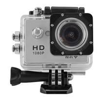 Filmadora Powerpack Accion Sport PRO-W2088 Wifi Prata