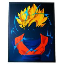 Placa Goku Super Sayajin