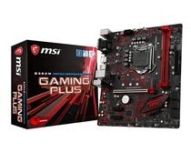 Placa Mãe MSI LGA1151 B360M Gaming Plus HDMI/VGA/DVI