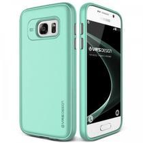 Capa para Galaxy S7 VRS Design Single Fit Ice Mint