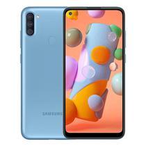 """Smartphone Samsung Galaxy A11 A115M 1 Sim Lte 6.2"""" 2GB/32GB Blue"""