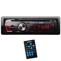 Reprodutor de CD Automotivo Booster BCD-5600UB 400W/ AM e FM/ USB/ Slot SD/ Auxiliar - Preto