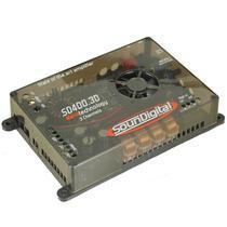 Amplificador Soundigital SD-400.3D 3 Canais Stereo 500W RMS