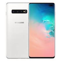 Smartphone Samsung Galaxy S10+ SM-G975F DS 8/ 512GB 6.4 12+12+16/ 10+8MP A9.0 - Branco (Gar. PY/ Uy/ Arg)