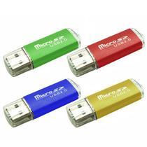 Adaptador Luo de Cartao Microsd para USB - Varias Cores