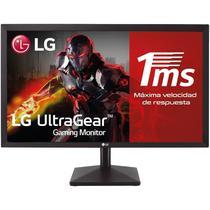 "Monitor Gamer LG 22MK400H-B - Full HD - 75HZ - HDMI/VGA/Aux - 22"""